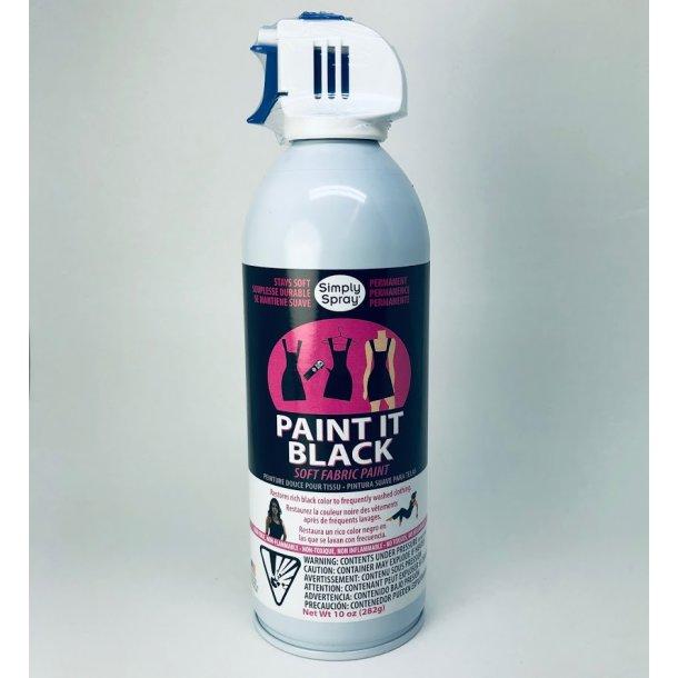 PAINT IT BLACK - MAXI fra Simply Spray - Stoffarve til genopfriskning af sort tøj