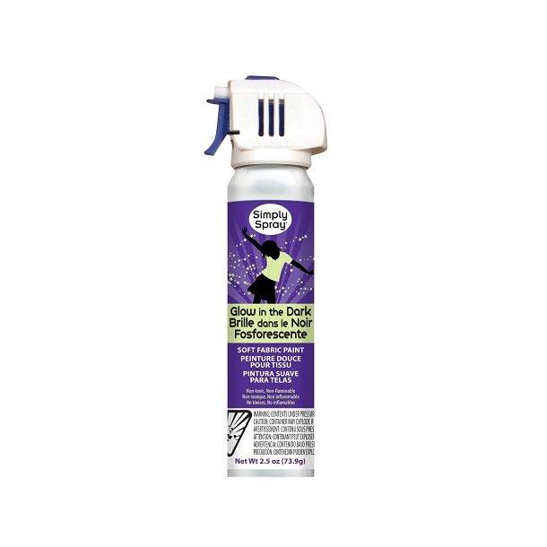 GLOW IN THE DARK fra Simply Spray - ikke-permanent stoffarve